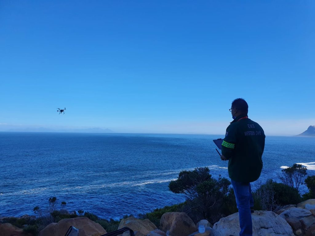 Western Cape EMS trails using drones in rescue operations