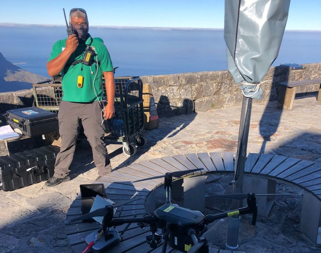 Body of woman who fell from Table Mountain found by EMS drone