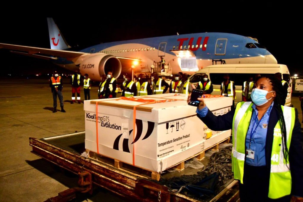 First Johnson & Johnson vaccine shipment arrives in SA