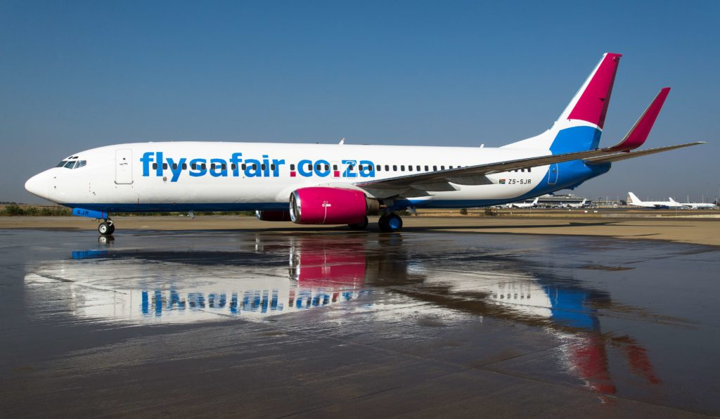 FlySafair approved to operate flights between SA and Mauritius