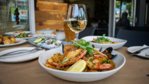 Gambas Bistro: Inspired by the seafood traditions of Spain and the Med