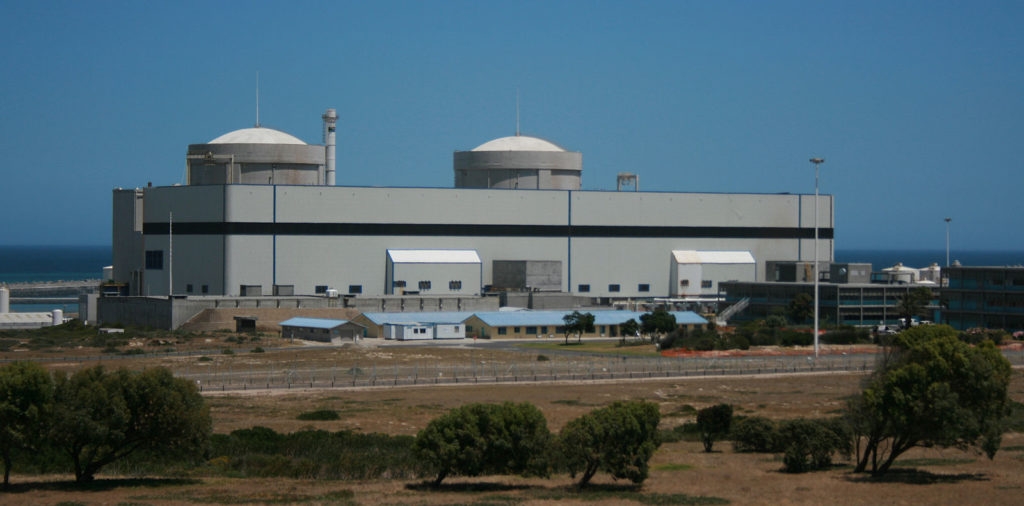 Damage and crack found around circumference of Koeberg Power Station