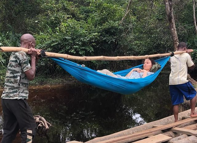 Ashley Judd shares look into 55-hour rescue mission after breaking her leg in Congo