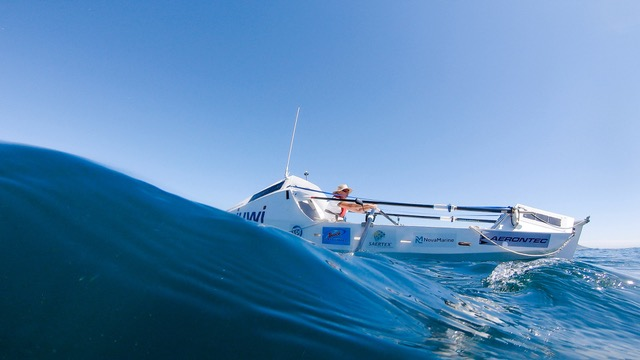 Zirk Botha is three-quarters into his 7200km solo row from Cape Town to Rio
