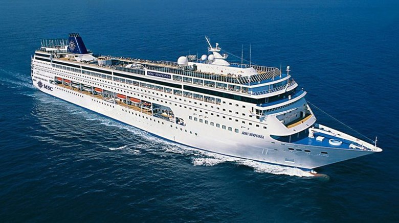 MSC Cruises won't be sailing to SA until at least November