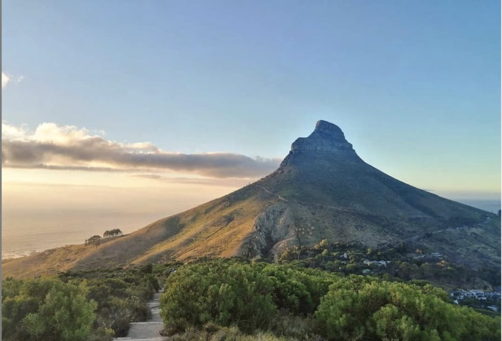 Take a Hike: Up Kloof Corner steps
