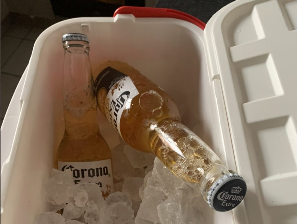 City confiscate hundreds of alcohol bottles from Cape beaches