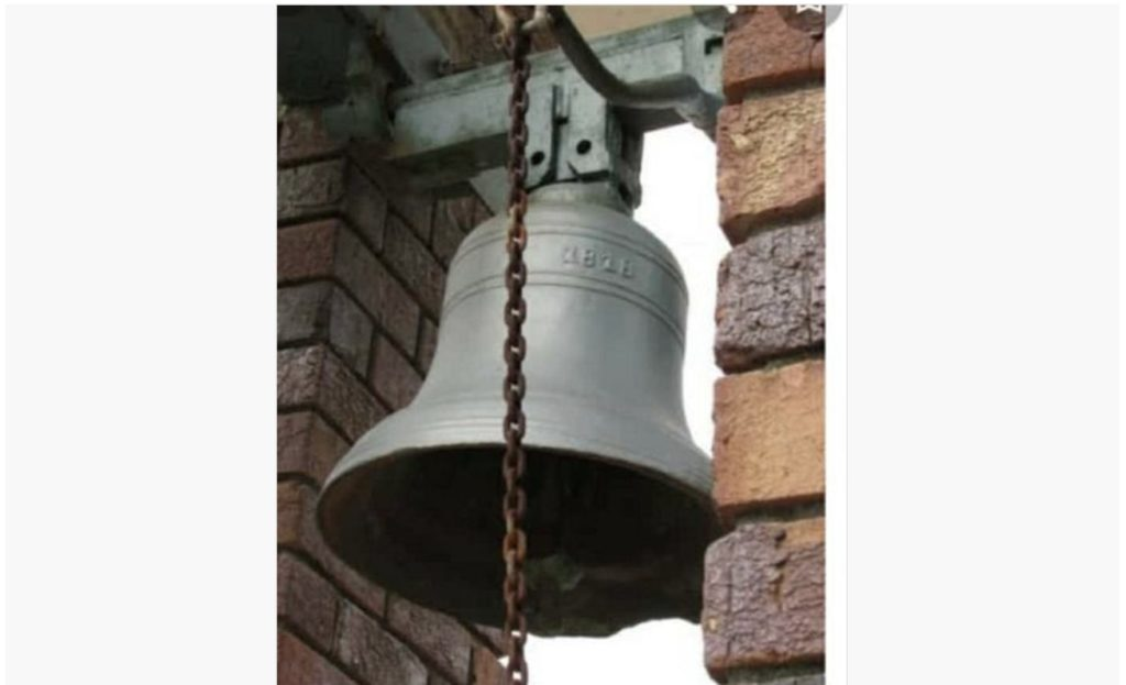 Mystery of the missing church bell solved
