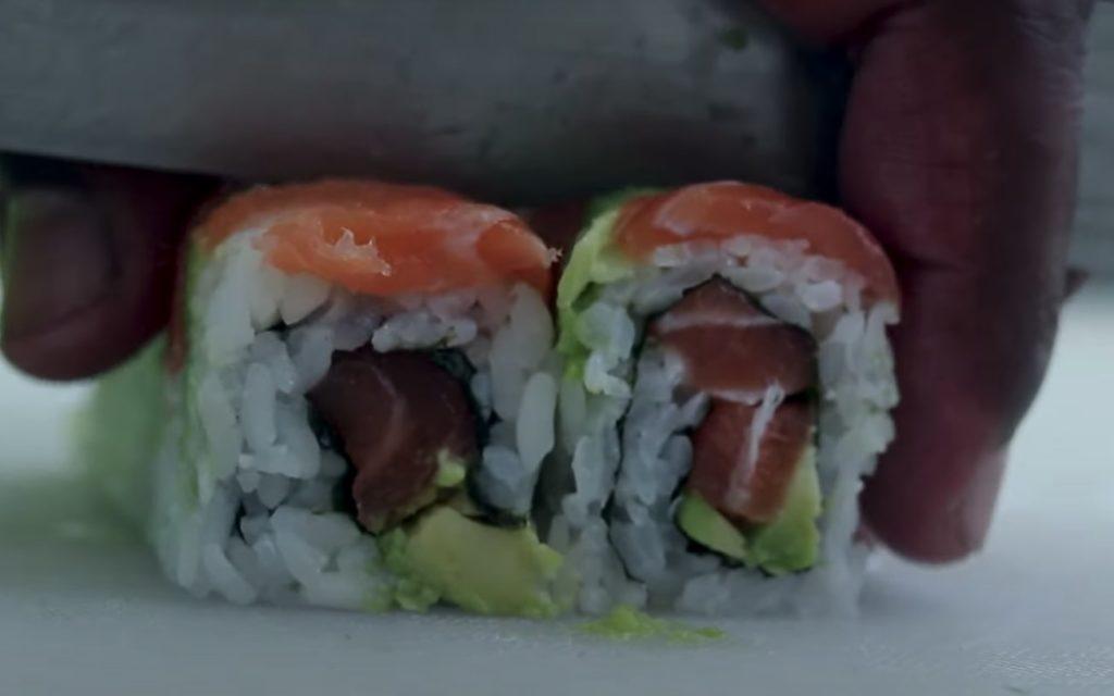 Sushi Fundi, a bit Cape flair