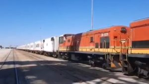 Transnet to use container train to reduce traffic and improve efficiency at Cape Town Port