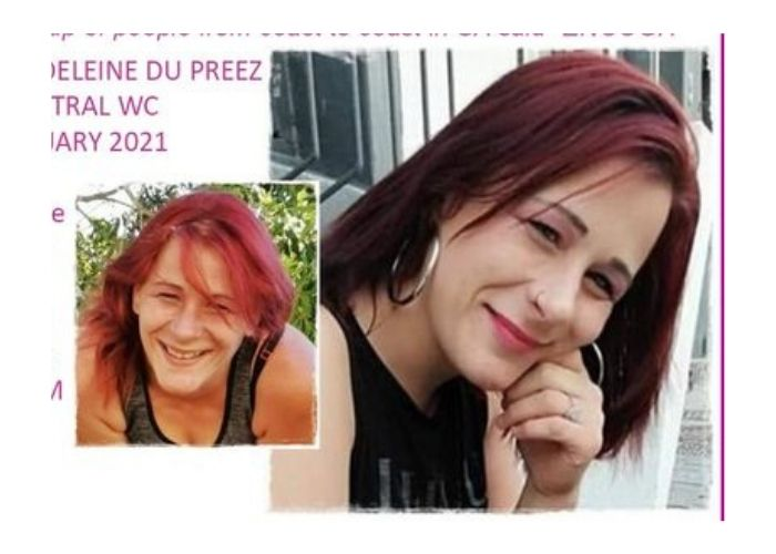 Help find missing Cape Town woman