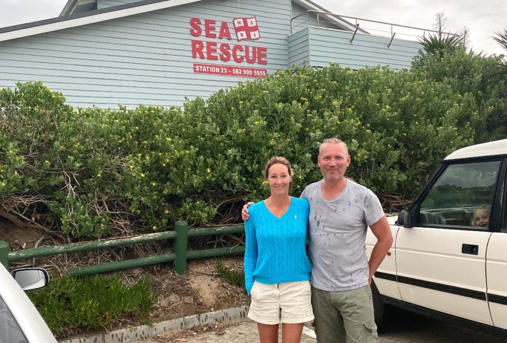 Man saved from rip current by German couple in Wilderness