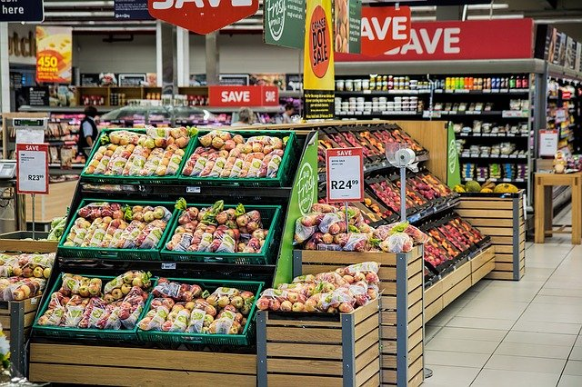 55.5% of South Africa's population cannot afford essential groceries