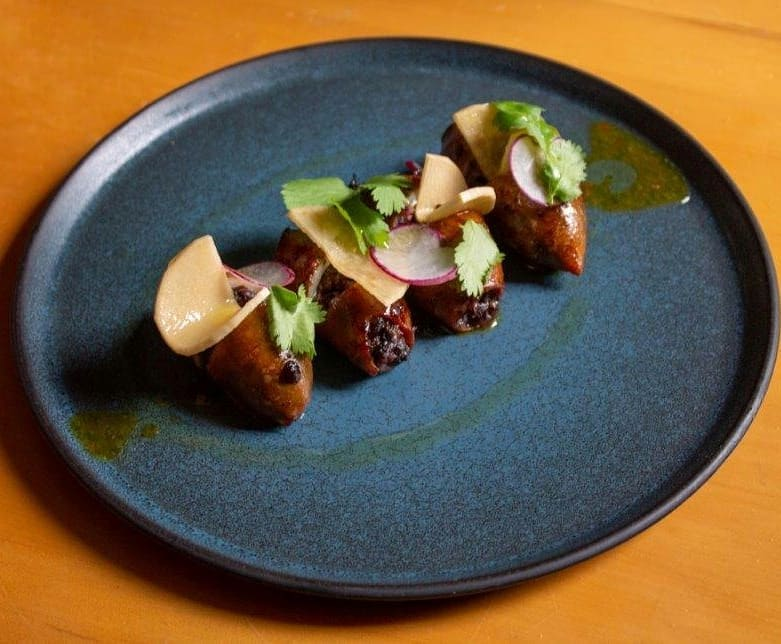 We're enchanted by Aubergine's timeless cuisine
