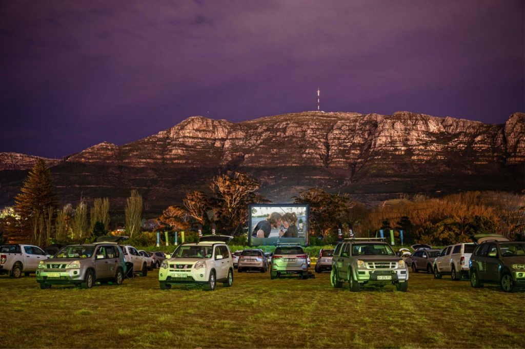 Drive-in movie locations in Cape Town