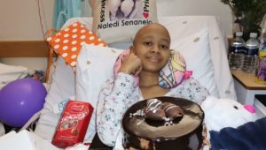 Donate your blood stem cells and help Naledi beat leukaemia