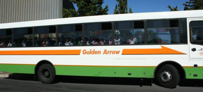 Golden Arrow bus