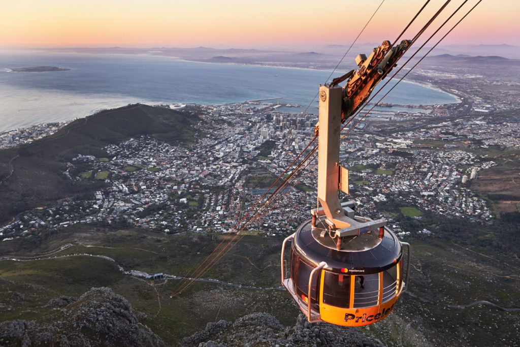 WIN: One of two double tickets to the Table Mountain Cableway