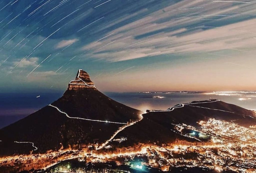 Unique footage from Lion's Head goes viral