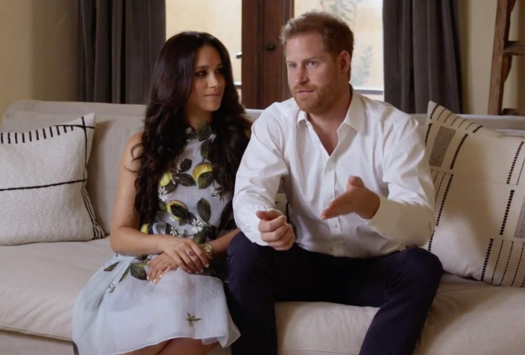 ITV strikes £1million deal to air Harry and Meghan's interview with Oprah