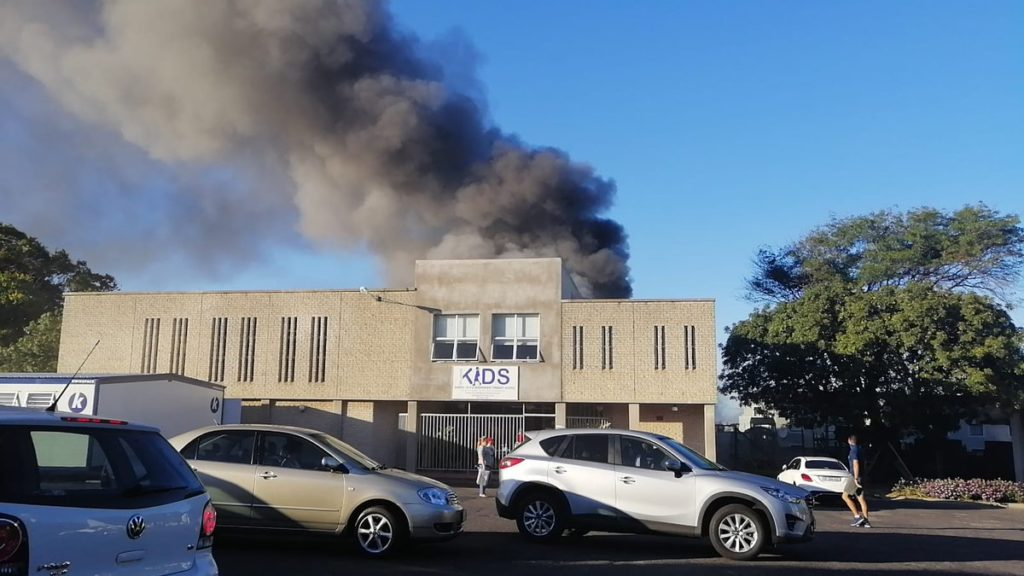 Children and teachers evacuated as fire breaks out at creche in Parow