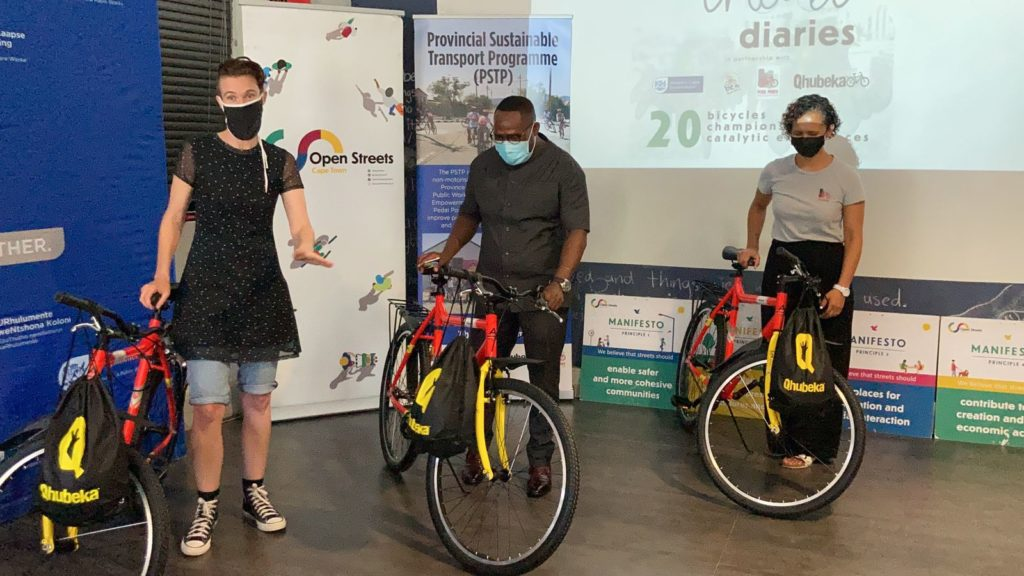 Open Streets Organisation receives 20 bicycles to make travelling more accessible