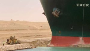 Ship stuck in Suez Canal finally re-floated