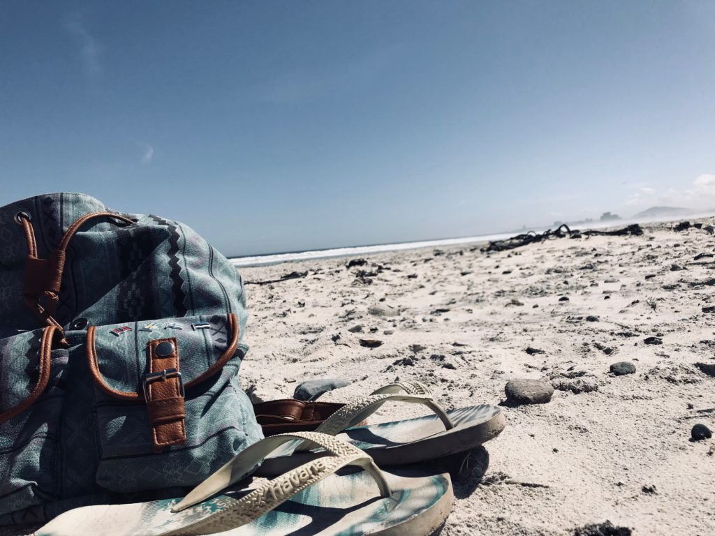 Cape Town's resting beach face