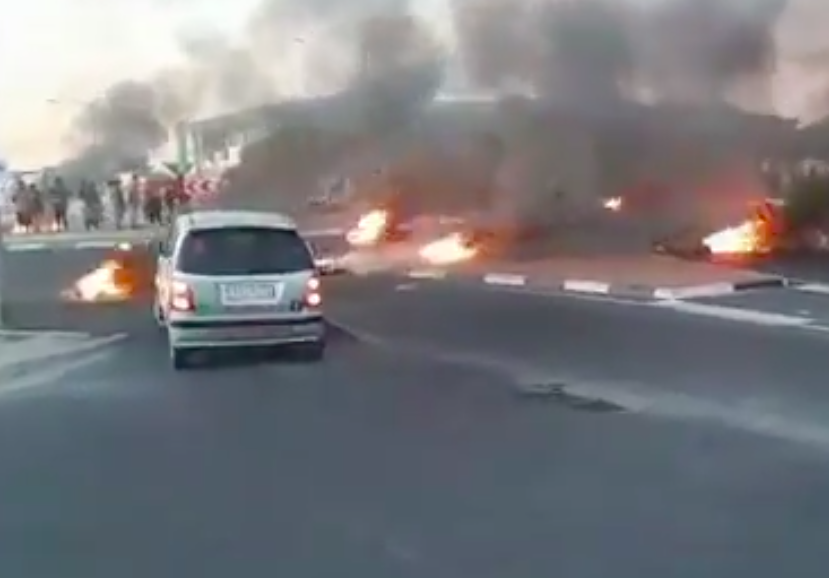 N2 protest leads to death