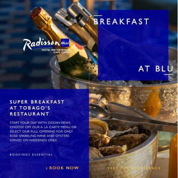 Super Breakfast at the Radisson Blu