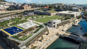 Get busy at the Waterfront's Battery Park