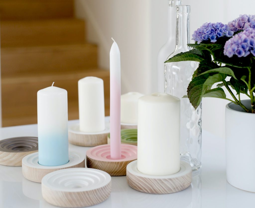 Light the way with these stunning homemade candles