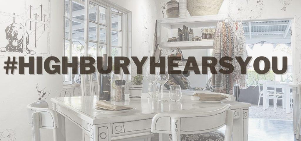 Mark Keohane Hears You - #HighburyHearsYou