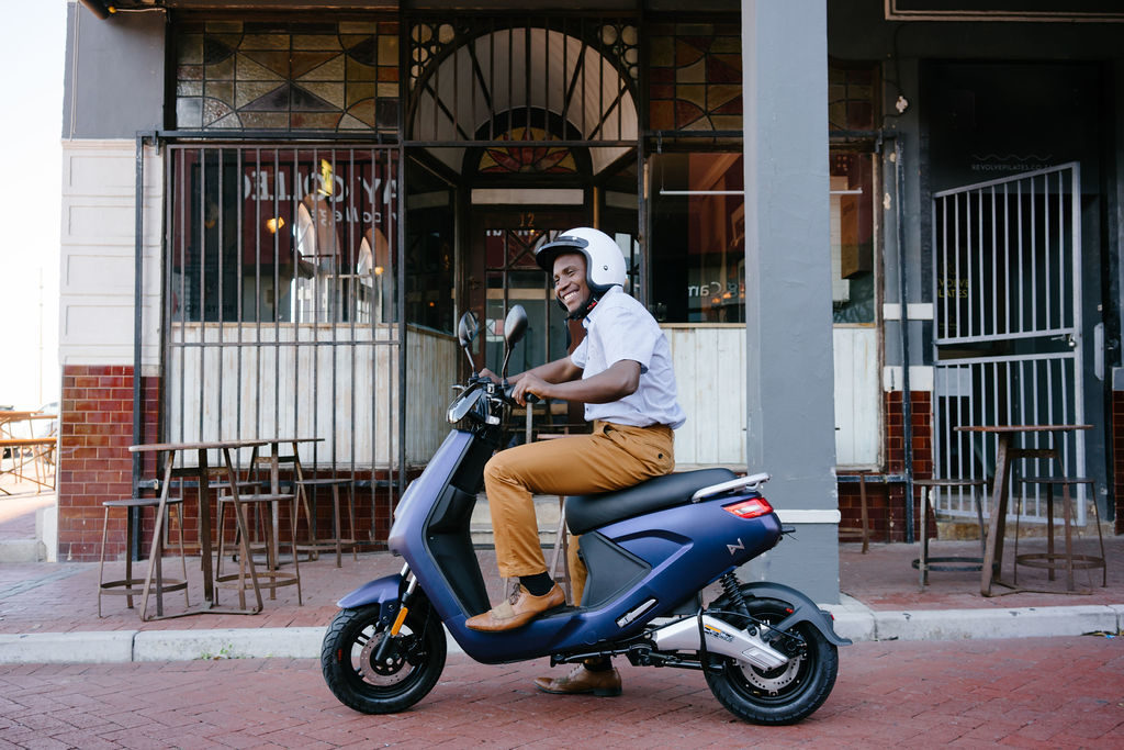 Fish Hoek pizzeria joins hands with electric scooter startup
