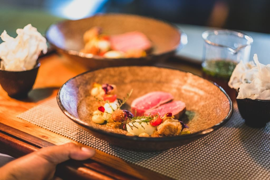 African modern fine dining at Greenhouse