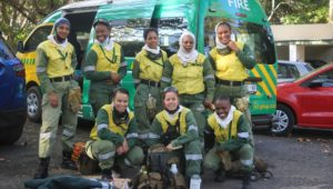 Juliet Crew all-female firefighting team