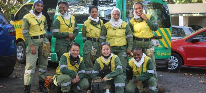 Juliet Crew all-female firefighting team