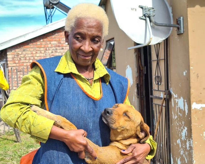 Mrs Maliso and Whiskey - a bond that couldn't be broken