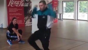 SA choreographer Rudi Smit tears up the dance floor