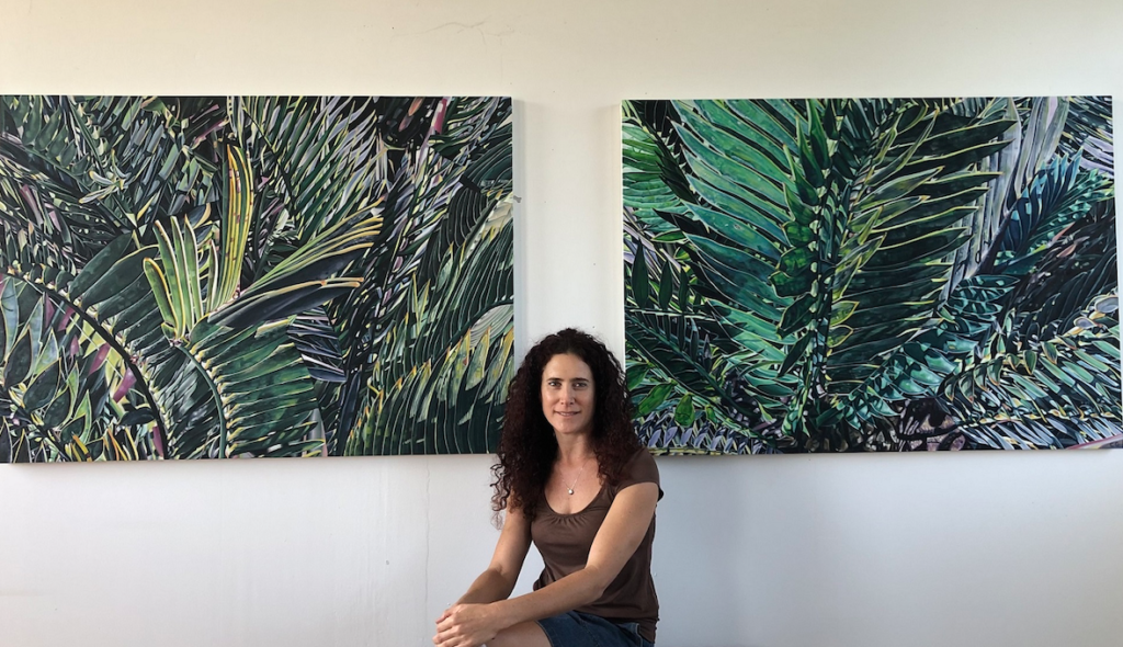 Lockdown on canvas: meet the Cape Town artist Claudia Gurwitz who made the pandemic's disconnect, art