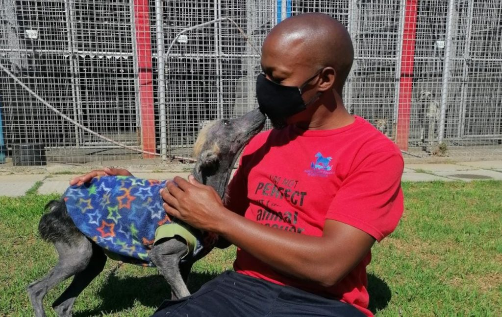 Meet the hero who saved Kuhle the warrior's life