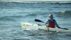 Kayaker braves the waves from KZN to Cape for environment