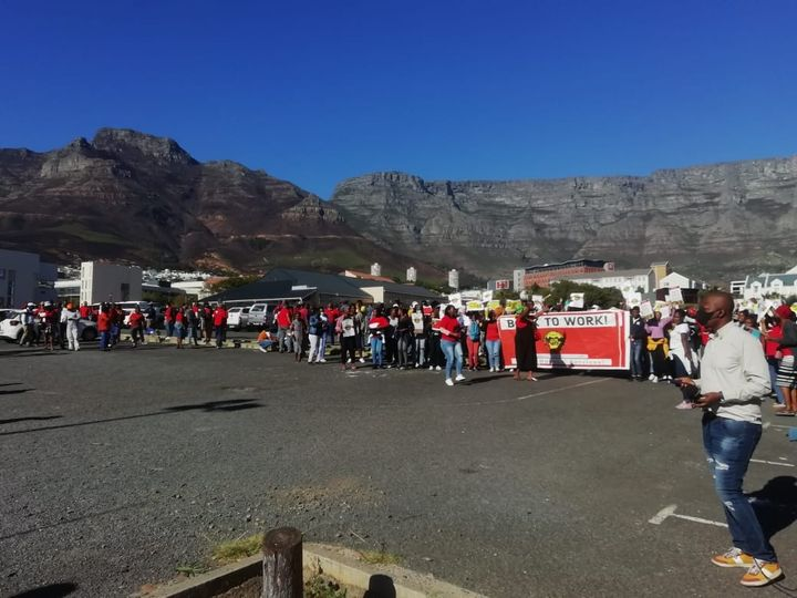 SAMWU calls for charges to be dropped against 500 workers