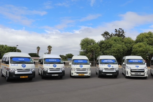 Blue Dot taxi service launched in Cape Town