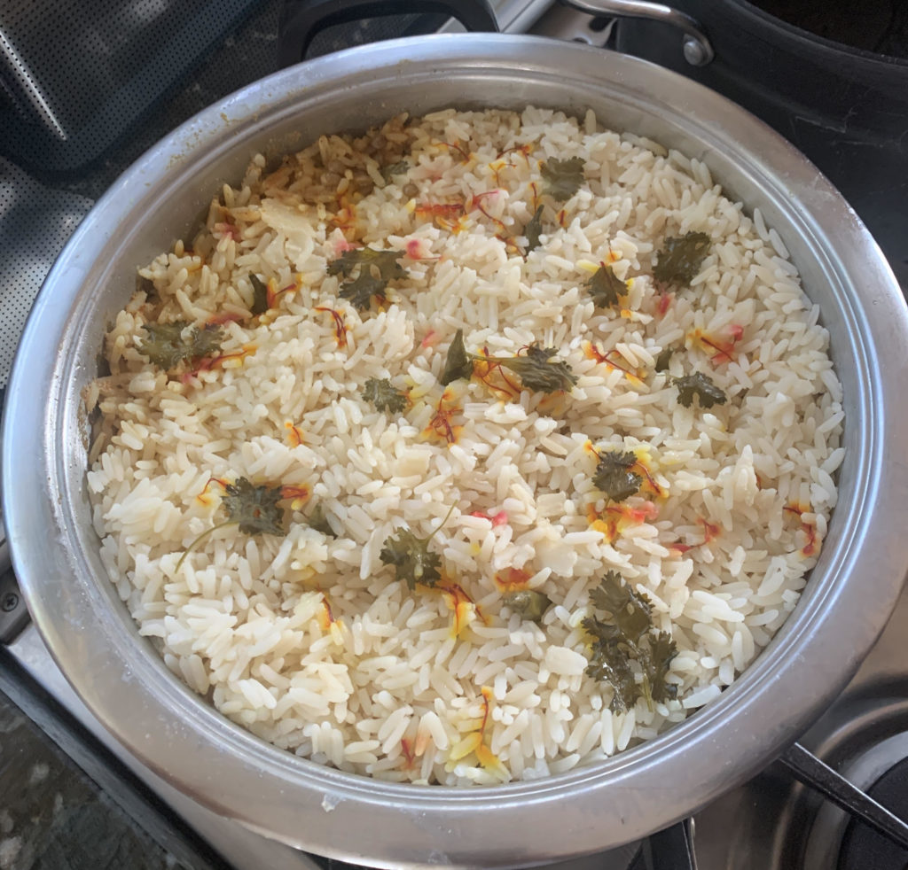 Kriya Gangiah's delicious mutton biryani for your mom this Mother's Day