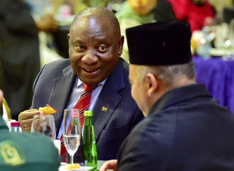 """""""We are with Palestine,"""" says Ramaphosa"""