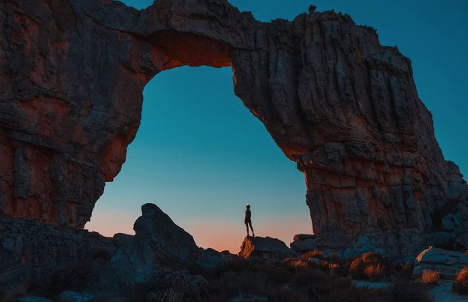 Sunsets and sunrises, as snapped by trailblazers