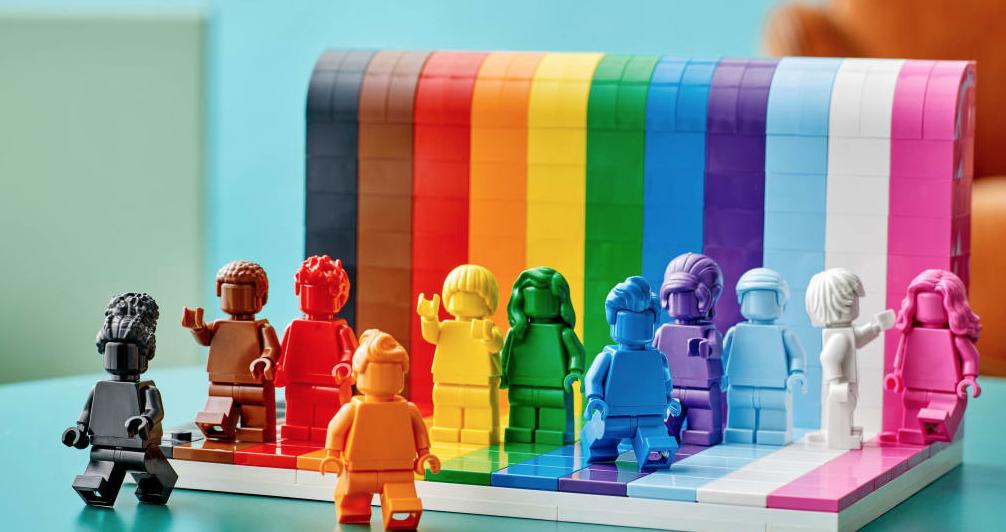 LEGO creates LGBTQIA+ themed set for Pride Month