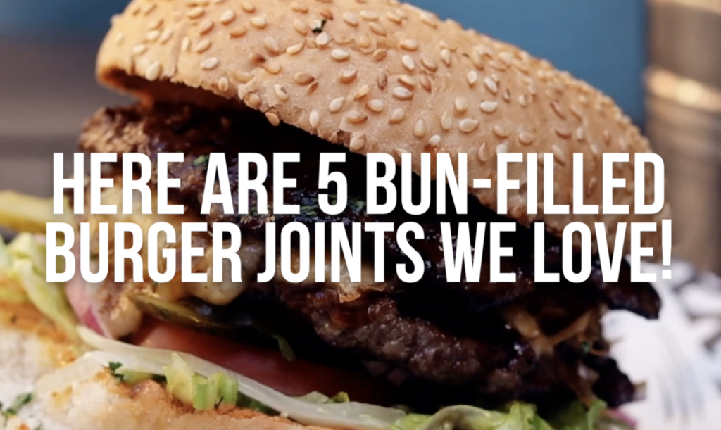 WATCH: 5 burger joints we love!