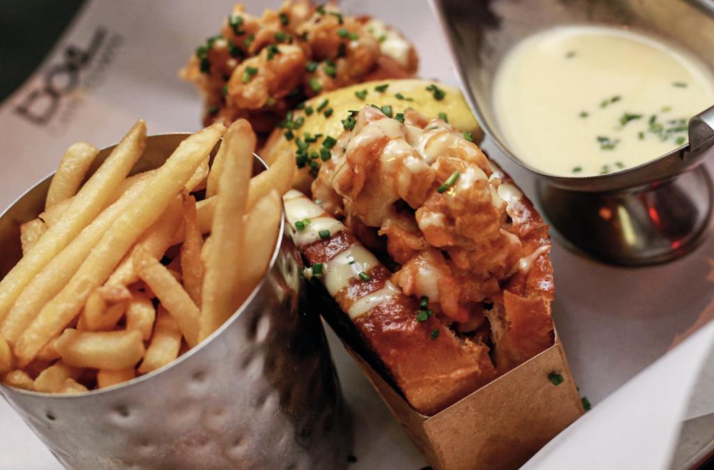 WIN: A luxurious dinner voucher from Burger & Lobster